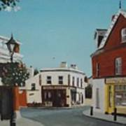The Corner Note, Dalkey Art Print