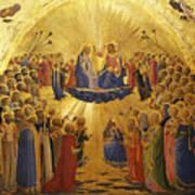 The Coronation Of The Virgin Art Print