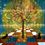 The Cosmic Tree Art Print by Sydne Archambault
