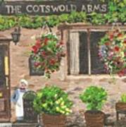 The Cotswold Arms Art Print
