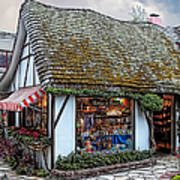 The Cottage Of Sweets - Carmel Art Print