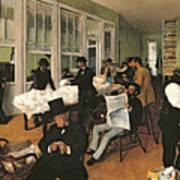 The Cotton Exchange Art Print