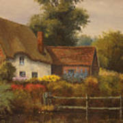 The Country Cottage Art Print