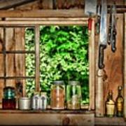 The Country Kitchen Art Print