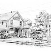 The County Line Store, 1931 Art Print