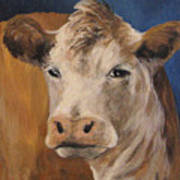 The Cow Art Print