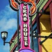 The Crab House Seafood Grill Art Print