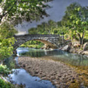 The Crabb Creek Bridge Art Print