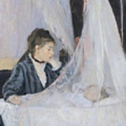 The Cradle Print by Berthe Morisot