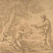 The Creation Of Eve  Art Print