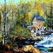 Glade Creek Art Print