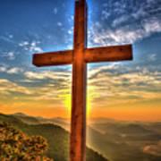 The Cross The Choice Pretty Place Chapel Greenville South Carolina Art Art Print