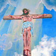 The Crucifixion Daytime Art Print