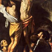 The Crucifixion Of Saint Andrew Art Print