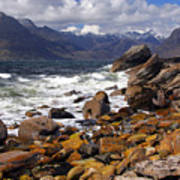 The Cuillin Mountains From Elgol Art Print