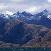 The Cuillin Mountains Isle Of Skye Art Print