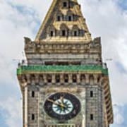 The Customs House Clock Tower Boston Art Print