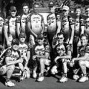 The Cycling Team II Art Print