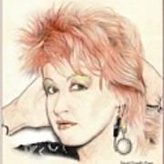 The Cyndi Lauper Art Print