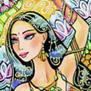 The Dance Of Daksha Art Print