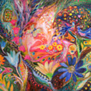 The Dance Of Flowers Art Print