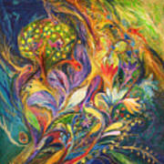 The Dance Of Lilies Art Print