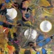 The Dance Of The Hummingbird Art Print