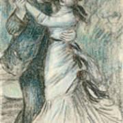 The Dance Art Print by Pierre Auguste Renoir