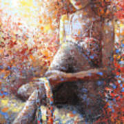 The Dancer In Ardent Art Print