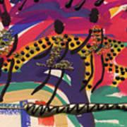 The Dancers Art Print