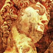 The David By Michelangelo Art Print