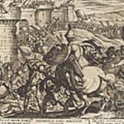 The Death Of Abimelech Art Print