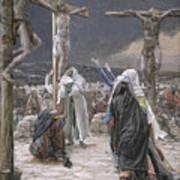 The Death Of Jesus Art Print