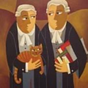 The Defendant Art Print