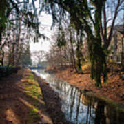 The Delaware Canal In New Hope Pa Art Print