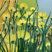 The Delightful Garden Art Print