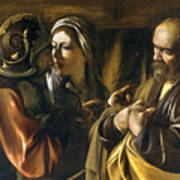 The Denial Of Saint Peter Art Print