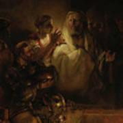 The Denial Of St Peter Art Print