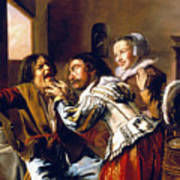 The Dentist, 1629 Art Print