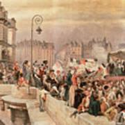 The Departure Of The Volunteers 1792 Art Print