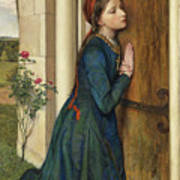 The Devout Childhood Of Saint Elizabeth Of Hungary, 1852 Art Print