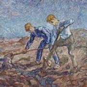 The Diggers Art Print