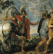 The Dismissal Of The Lictors Art Print