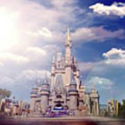 The Disney Rush Art Print