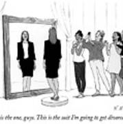 The Divorce Suit Art Print