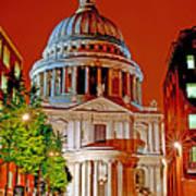 The Dome Of St Pauls Art Print