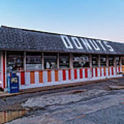 The Donut Shop No Longer 2, Niceville, Florida Art Print