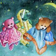 The Doo Doo Bears Art Print