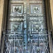The Door At The Parthenon In Nashville Tennessee Art Print