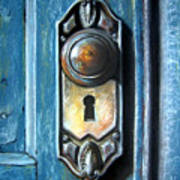 The Door Knob Art Print
